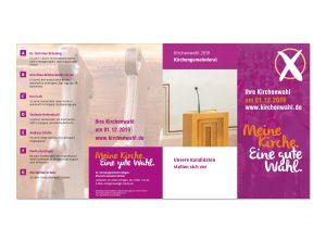 Flyer Kirchengemeinderatswahl 2019