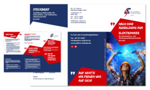 Corporate-Design - Azubi-Flyer